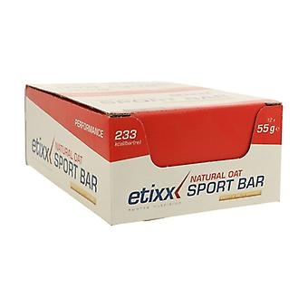 Natural Oat Sport Bar Caramelo 12 units of 55g