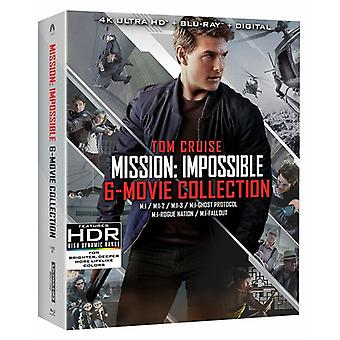 Mission: Impossible 6 Movie Collection [Blu-ray] USA import