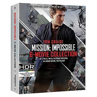 Missão: Impossible 6 Movie Collection [Blu-ray] IMPORTAÇÃO EUA