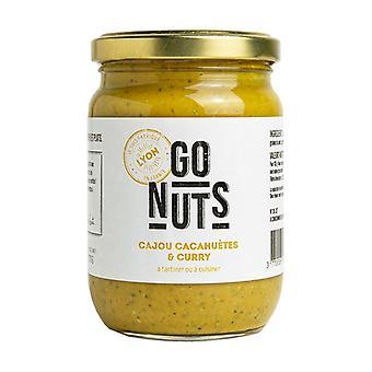 Spreadable cashew peanuts curry 270 g of cream