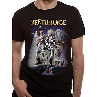 Beetlejuice Unisex Adults Poster Design T-Shirt