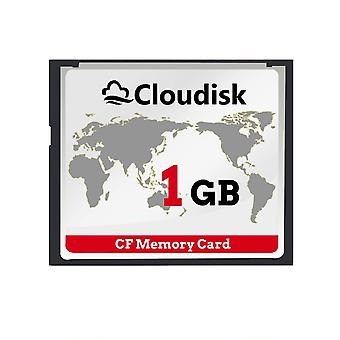 Cloudisk cf card 1gb compact flash memory card performance for photography cameras