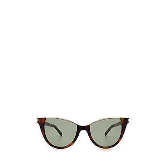 Saint Laurent SL 368 havana żeńskie okulary przeciwsłoneczne