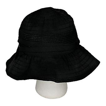 Physician Endorsed One Adjustabled UPF 50 Belle Epoque Hat Black A347809