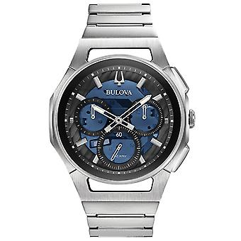 Mens Watch Bulova 96A205, Kvarts, 44mm, 3ATM