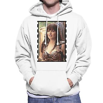 Xena Warrior Princess On A Quest Men's Hooded Sweatshirt
