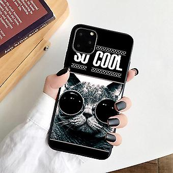 iPhone 12 Pro Max shell cool cat with sunglasses
