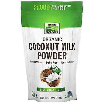 Ora alimenti, cibo reale, latte di cocco biologico in polvere, 12 once (340 g)