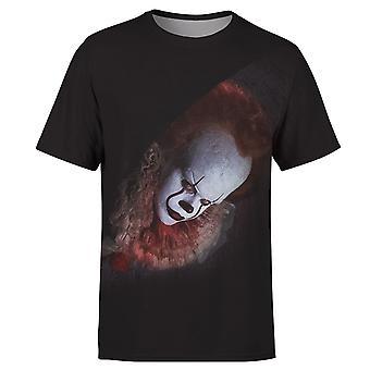 Men & Women Joker Face 3d Printed T-shirt