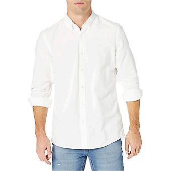"Goodthreads Men's ""The Perfect Oxford Shirt"" Standard-Fit Long-Sleeve Solid  ..."