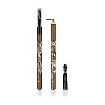 Organic Almond Eyeliner and Eyebrow Pencil with brush 1 unit