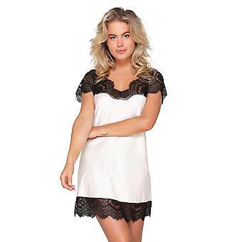 LingaDore 6015S-277 Women's Powder Black Lace Nightdress