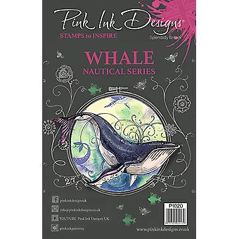 Pink Ink Designs Clear Stamp Whale A5