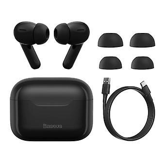 Baseus S1 Wireless Earphones - ANC True Touch Control TWS Bluetooth 5.0 Earphones Earbuds Earphones Black