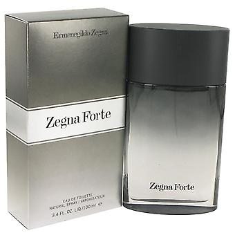 Zegna Forte Eau De Toilette Spray By Ermenegildo Zegna 3.4 oz Eau De Toilette Spray