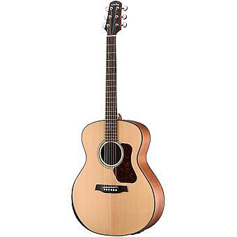 Walden g550re w/gig bag natura solid épineuce top accoudoir grand auditorium guitare acoustique-électrique - open pore satiné naturel