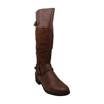 Style & Co. Women&s Shoes Ashliie Almond Toe Knee High Fashion Boots