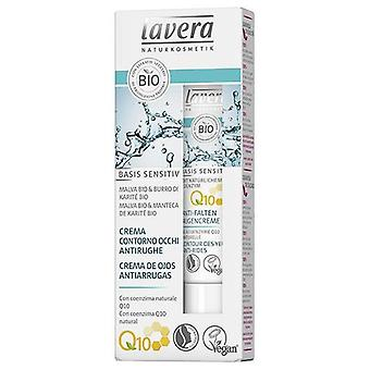 Lavera Crème anti-rides pour le contour des yeux Q10 15 ml