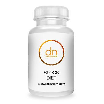 Régime direct de bloc de nutrition 60 Cápsulas