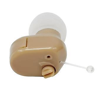 2021 Nowe aparaty słuchowe mini słuchawki słuchowe dla osób starszych i dorosłych ucha wewnętrznego niewidoczny regulowany wzmacniacz dźwięków