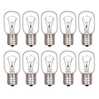 10 Pieces 8206232A Microwave Light Bulb E17 Replaces 8206232 R0712011