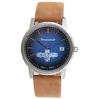 Aristo Unisex Messerschmitt Watch Boxer Watch ME-BOXER14 Leather