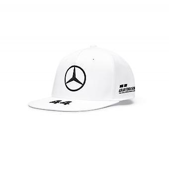 Mercedes AMG Petronas Mercedes Amg Petronas Motorsport F1™ Lewis Hamilton Flatbrim Driver Cap Hvit