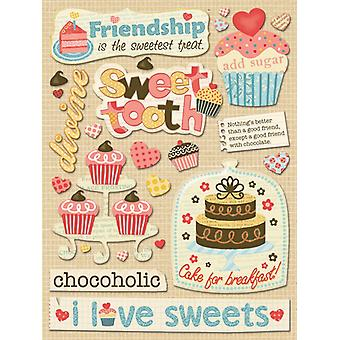 K & Co - Handmade Sweet Friends Grand Adhesions