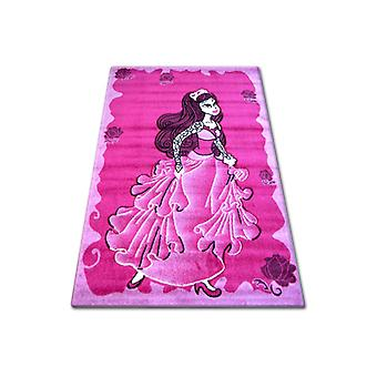 Rug PILLY 6362 - fuchsia/cream