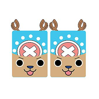 Chopper One Piece Half Finger Anime Gloves Cute Warm Gloves For Party