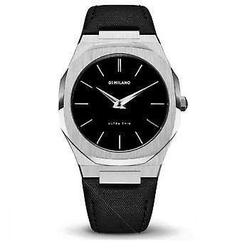 Watch D1 Milano ULTRA THIN Quartz - Silver Dial - 40 mm - UTNJ01