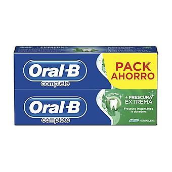 Oral-b total freshness toothpaste 2x75 ml 2 units of 75ml