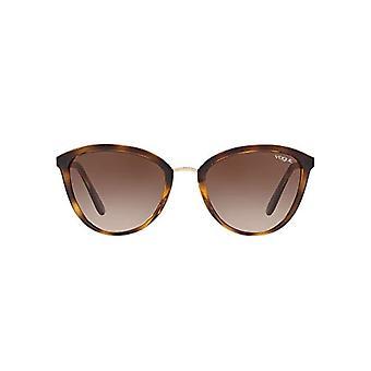 Ray-Ban 0VO5270S Sonnenbrille, Rot (Dunkle Havanna), 57.0 Damen