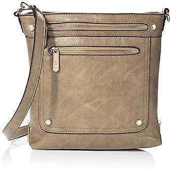 Bessie London, Women's Crossbody Handbag, Gold, One Size
