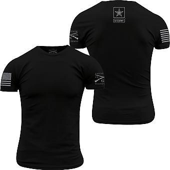 Grunt Style Army - Basic Back Logo T-paita - Musta