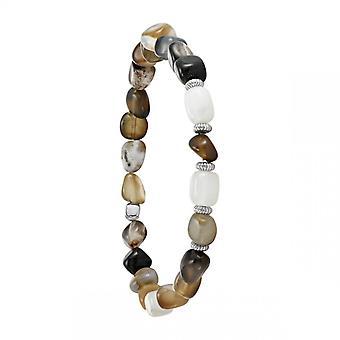 Bracelet Homme Jourdan AJH150014B - BOREAL - Perle marron
