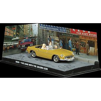 MG MGB Diecast modell bil från James Bond mannen med den gyllene pistolen