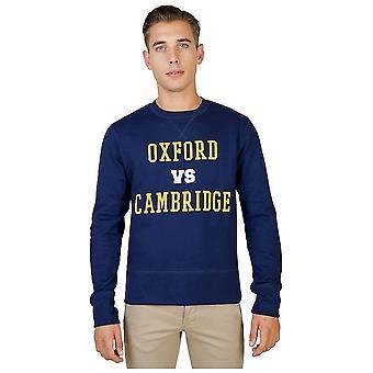 Oxford University - Clothing - Sweatshirts - OXFORD-FLEECE-CREWNECK-NAVY - Men - navy - XL