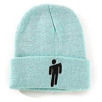 Blau geeignet für Herbst und Winter gestrickte Hutschiff Hopfen HüteWoolen Hüteeuropäische und amerikanische Männer x2873