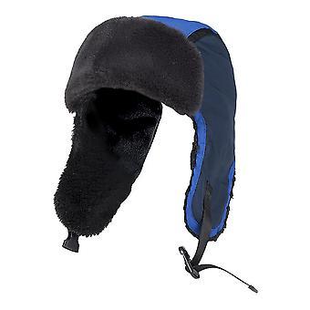 Cappello da trapper da sci termico invernale impermeabile per bambini