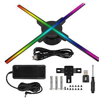WiFi/プラグイン3Dホログラムプロジェクターライト広告ディスプレイ Led ファン