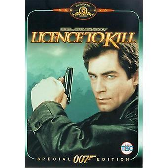 James Bond: License To Kill DVD