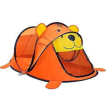 Lasten teltta talo sarjakuva eläin tiikeri teltta lapsille lapset ulkona urheilu peli teltat vauva