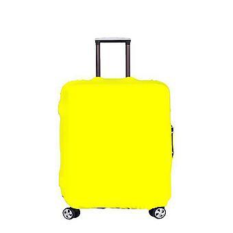 כיסוי מזוודות נסיעות מגן מזוודה מתאים 18-28 אינץ' מזוודות רחוצות אבק נגד שריטות