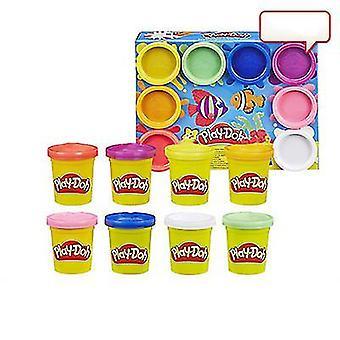 Rainbow 8-farve Børns Plasticine Diy Creative Håndlavet Legetøj Set (COLOR1)