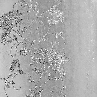 Muriva Senna Trail Plata Gris Wallpaper 701580