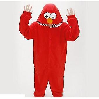 Erwachsene Sesamstraße Cookie Elmo Kostüm (M)
