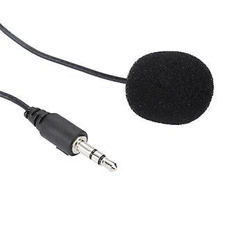 Mini Kannettava Clip-on Mikrofoni Lauhdutin Lavalier Tie Clip