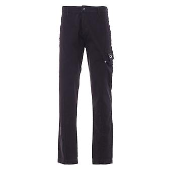 MA.Strum GD Tapered Fit Cargo Trousers - Black