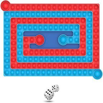 Big Size Bubble Fidget Toy Chess Board Square Bubble Pop Sensory Fingertip Game